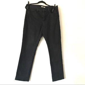 Levi's Black High Rise Skinny Jeans - US 32
